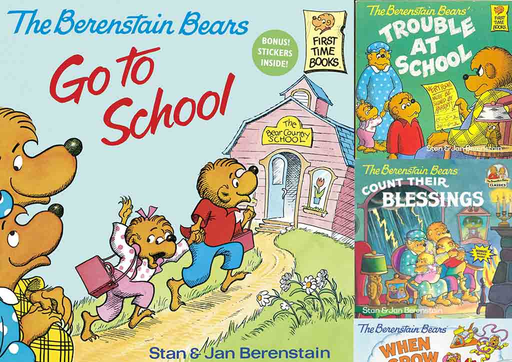 The Berenstein Bears Books by Mike Berenstein - perfect books for kids who are aged 3-6!